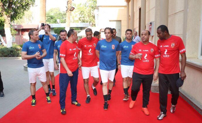 SATUC's ambassadors who always supporting us -Nuno Gomes & Sheikha شيخه شيخه ال ثاني ساتوك Sheikha Sheikha Al Thani Satuc World Cup