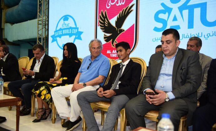 Dr / Amr Haddad - Deputy Minister of Youth and Sports - شيخه شيخه ال ثاني ساتوك Sheikha Sheikha Al Thani Satuc World Cup - عمرو حداد نائب وزير الشباب والرياضة