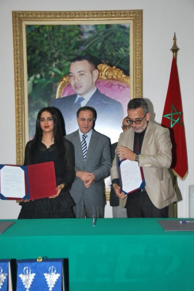 Sheikha Al Thani Signed a Protocol with Regional Council in Tiznit, Morocco for SATUC World Cup 2020 (105)
