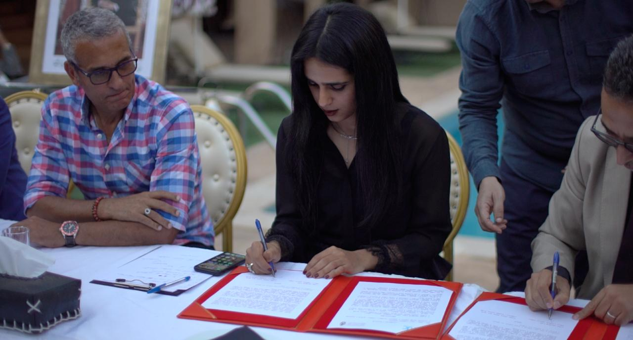 Sheikha Al Thani Signed a Protocol with Regional Council in Tiznit, Morocco for SATUC World Cup 2020 (14)