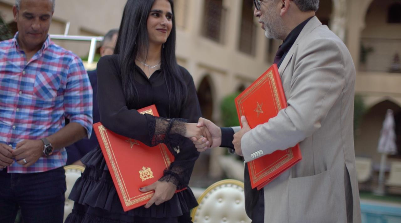 Sheikha Al Thani Signed a Protocol with Regional Council in Tiznit, Morocco for SATUC World Cup 2020 (15)