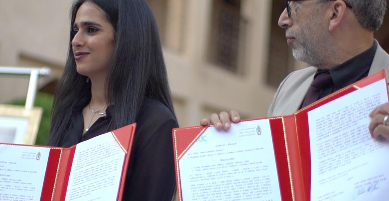 Sheikha Al Thani Signed a Protocol with Regional Council in Tiznit, Morocco for SATUC World Cup 2020 (16)