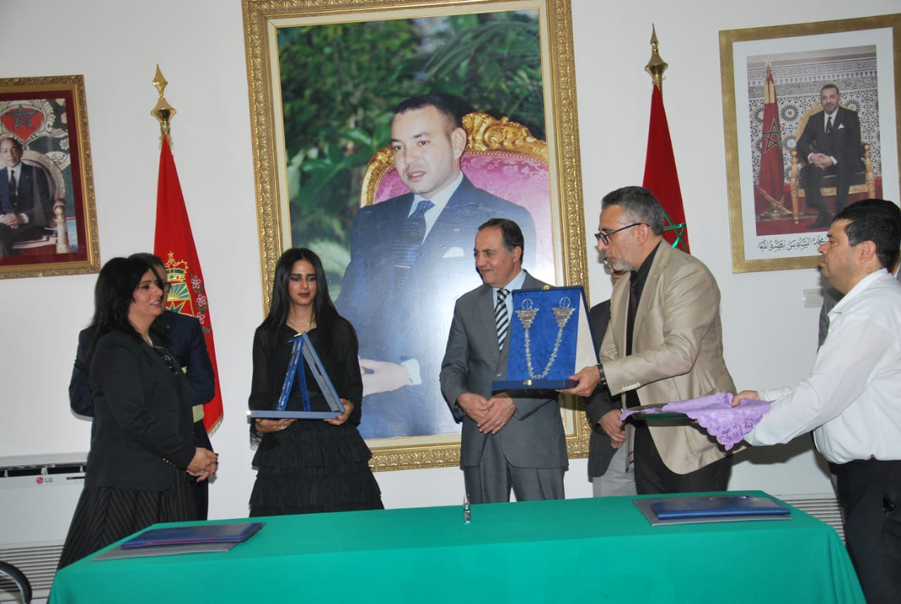Sheikha Al Thani Signed a Protocol with Regional Council in Tiznit, Morocco for SATUC World Cup 2020 (220)