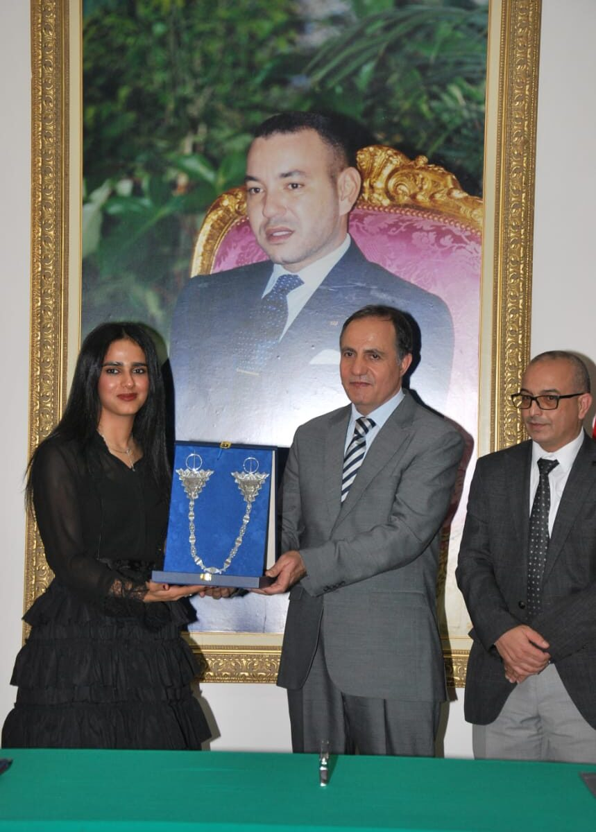 Sheikha Al Thani Signed a Protocol with Regional Council in Tiznit, Morocco for SATUC World Cup 2020 (222)