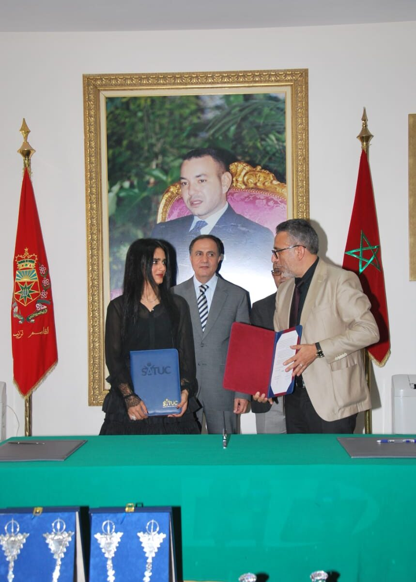 Sheikha Al Thani Signed a Protocol with Regional Council in Tiznit, Morocco for SATUC World Cup 2020 (223)