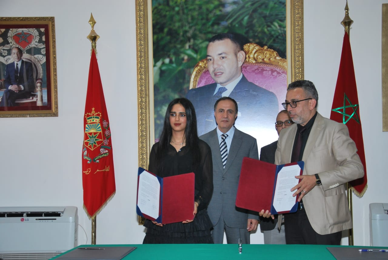 Sheikha Al Thani Signed a Protocol with Regional Council in Tiznit, Morocco for SATUC World Cup 2020 (225)