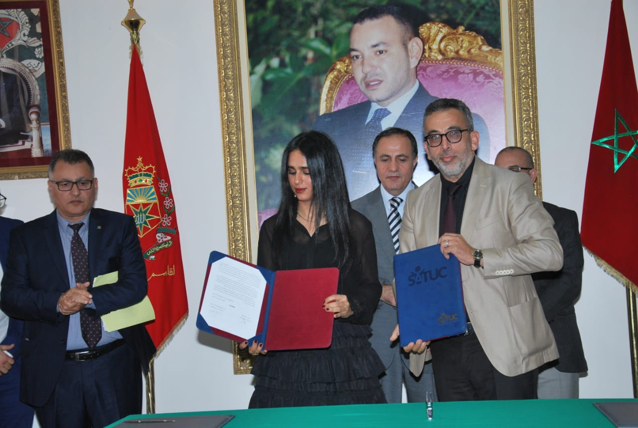 Sheikha Al Thani Signed a Protocol with Regional Council in Tiznit, Morocco for SATUC World Cup 2020 (226)