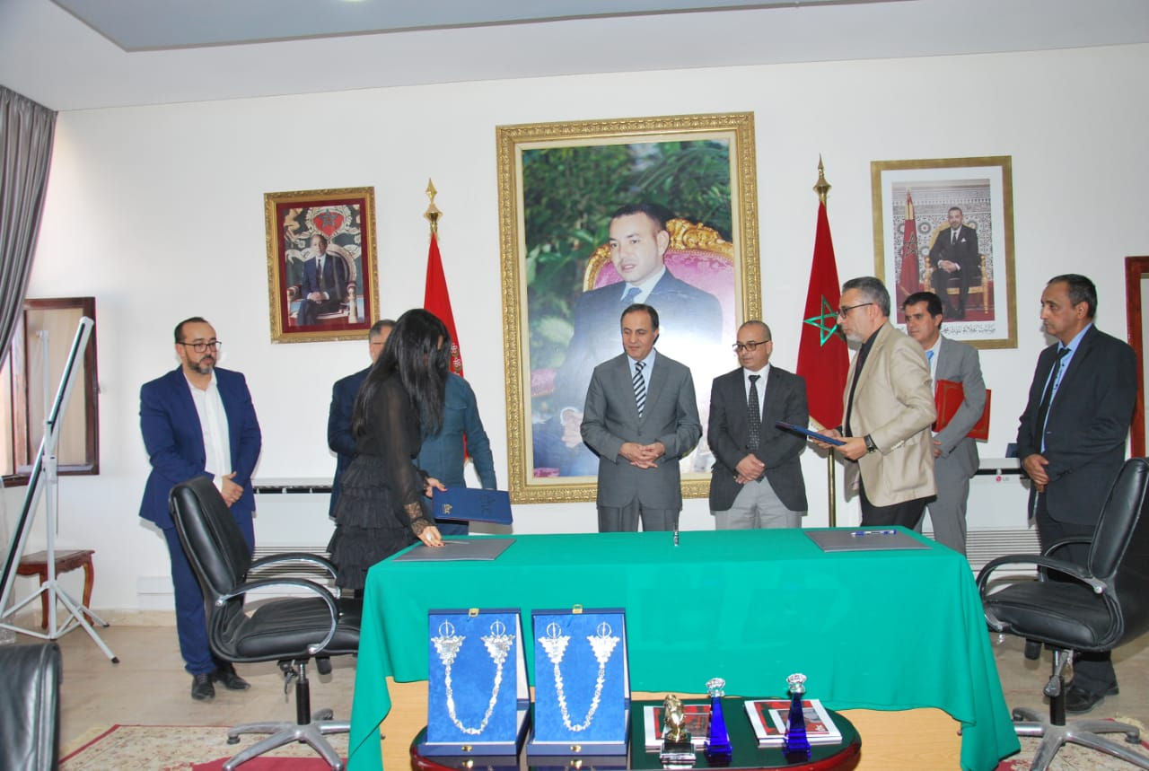 Sheikha Al Thani Signed a Protocol with Regional Council in Tiznit, Morocco for SATUC World Cup 2020 (229)