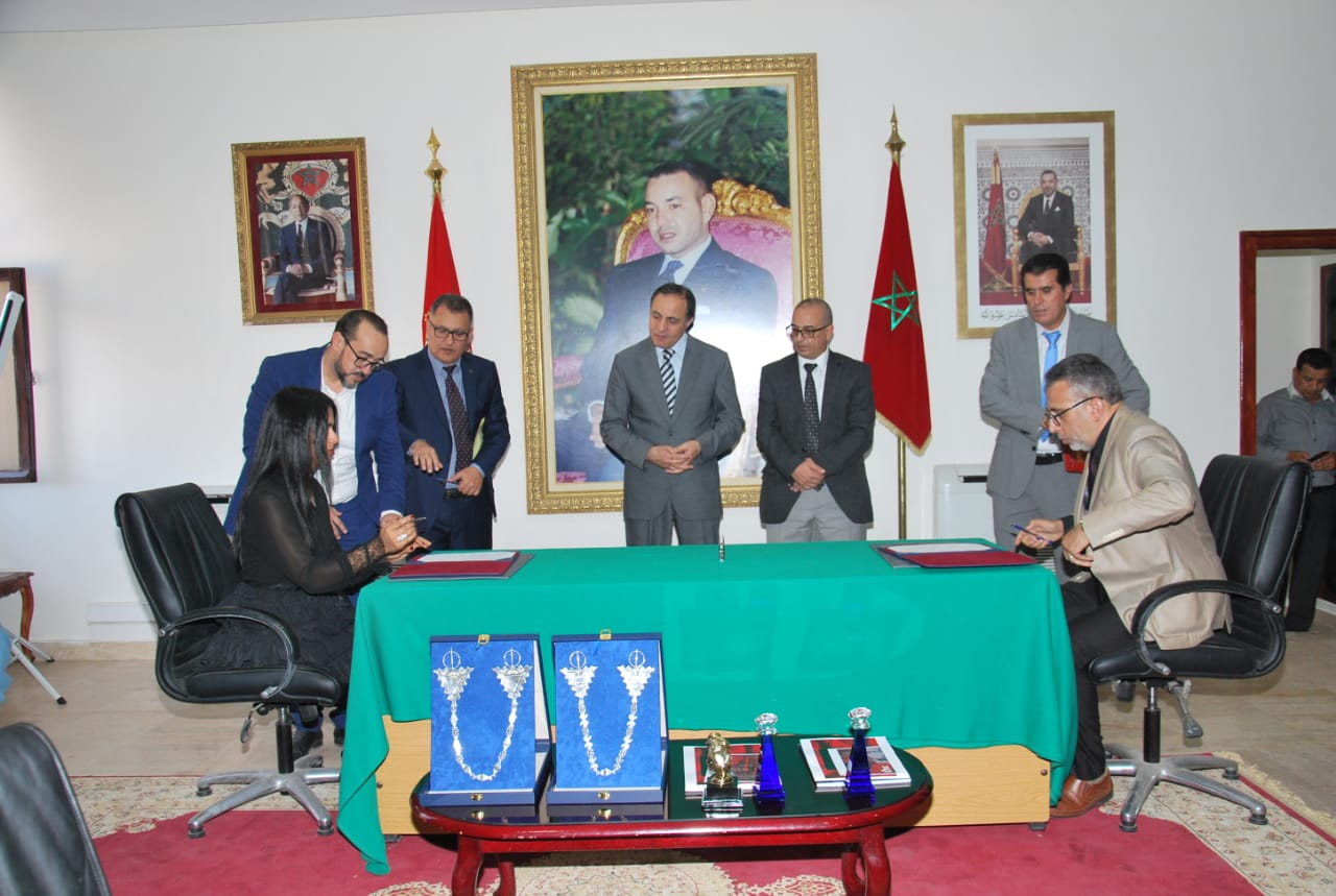 Sheikha Al Thani Signed a Protocol with Regional Council in Tiznit, Morocco for SATUC World Cup 2020 (231)