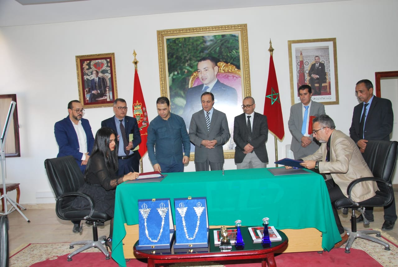 Sheikha Al Thani Signed a Protocol with Regional Council in Tiznit, Morocco for SATUC World Cup 2020 (232)