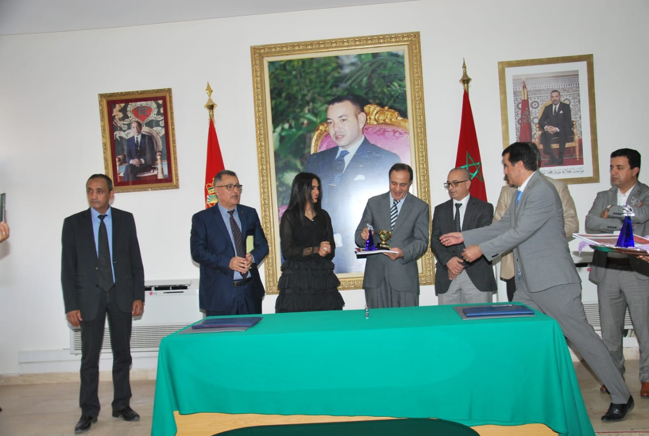 Sheikha Al Thani Signed a Protocol with Regional Council in Tiznit, Morocco for SATUC World Cup 2020 (236)