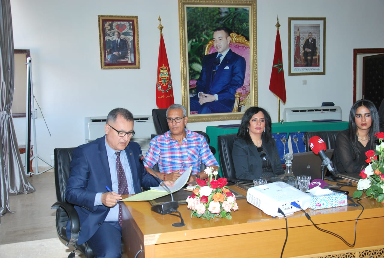 Sheikha Al Thani Signed a Protocol with Regional Council in Tiznit, Morocco for SATUC World Cup 2020 (237)